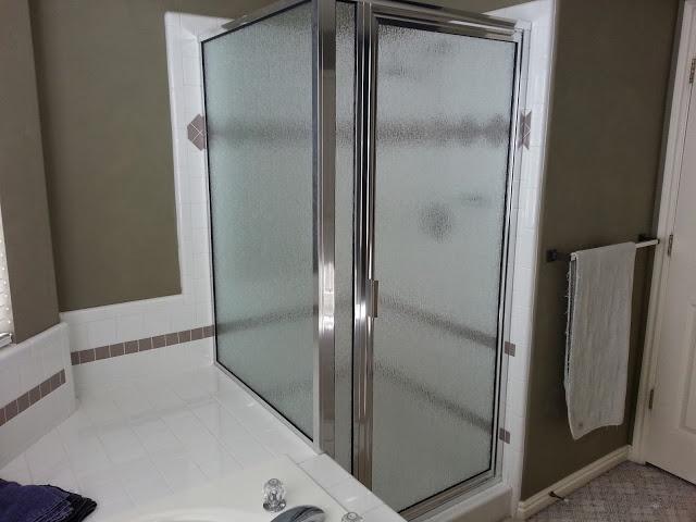 gallery framed shower
